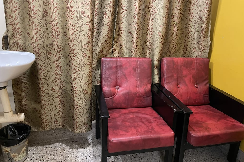Habitación ejecutiva, 1 cama King size, para no fumadores, vista a la ciudad - Sala de estar