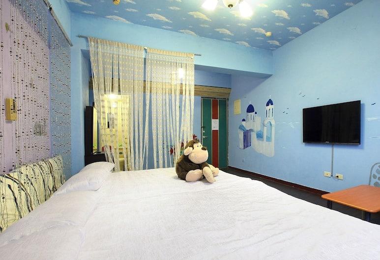 享樂旅宿逢甲館, 台中市, 標準四人房, 客房