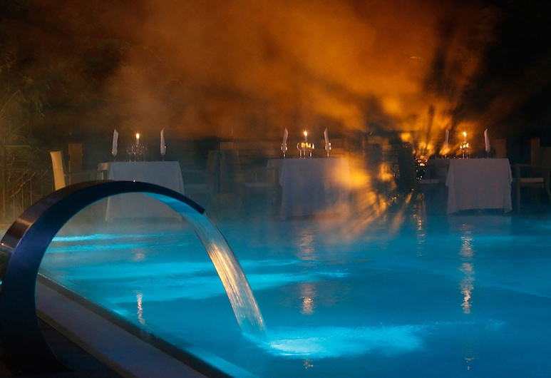 Wellness - Sport Hotel Bayerischer Hof, Rimbach (Bavaria), Bazén s vodopádem