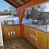 Кондо, 1 спальня, для некурців, з видом на сад - Балкон