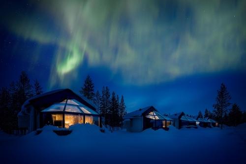 北極圈聖誕老人冰屋飯店/