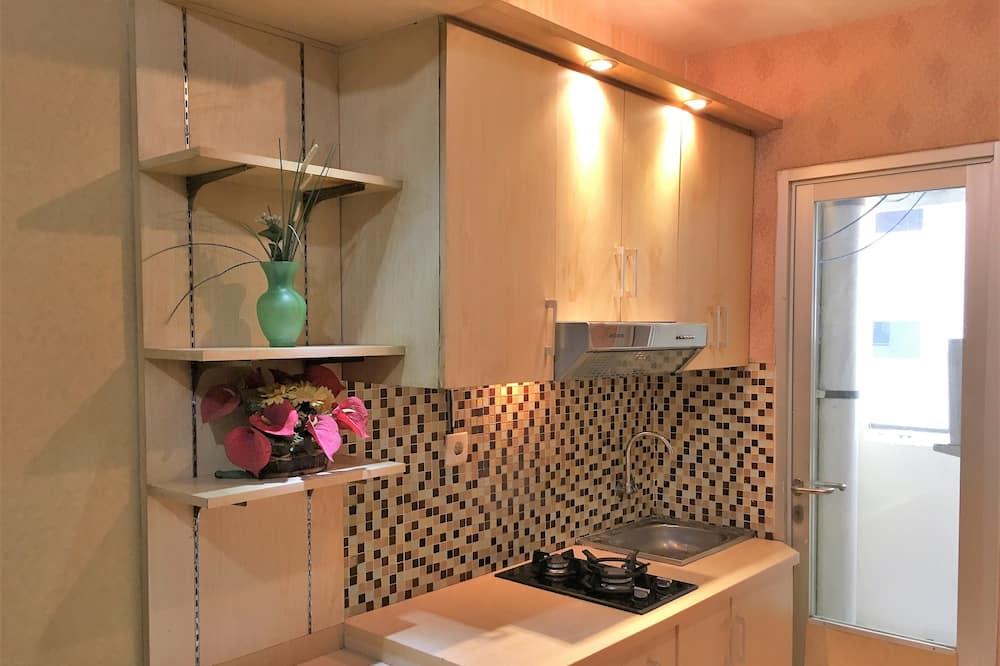 Apartemen, 2 kamar tidur - Dapur kecil pribadi