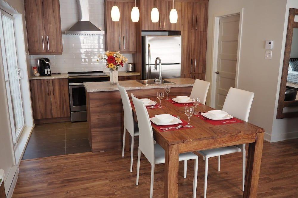 Planinska kuća - chalet (Hibou) - Obroci u sobi