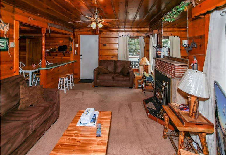 Pine Forest Cabin, Danau Big Bear , Kabin, 2 kamar tidur, non-smoking, Area Keluarga