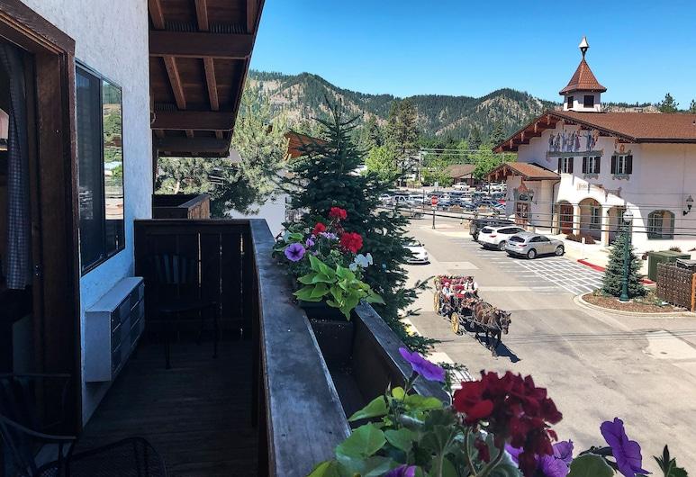Hotel Pension Anna, Leavenworth, Balkon
