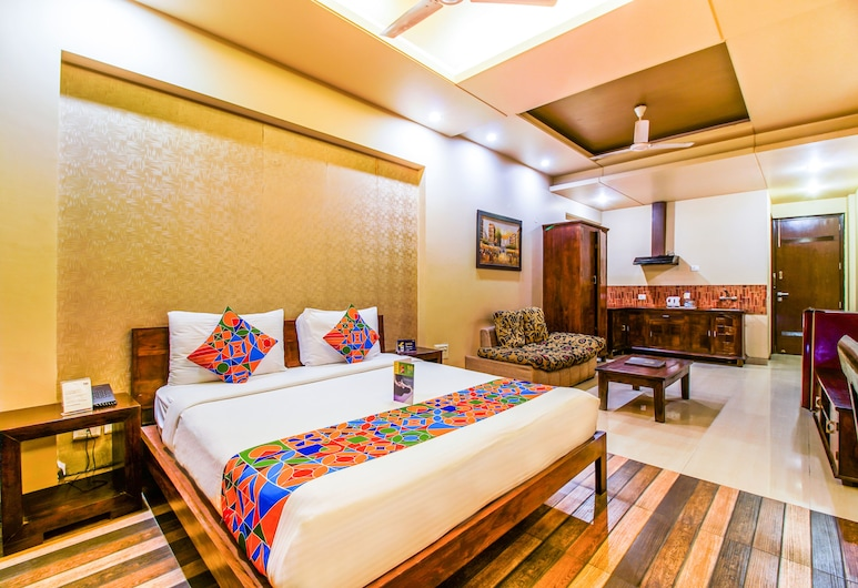 FabHotel Tavisha Villa, Noida, Chambre Premium, Chambre