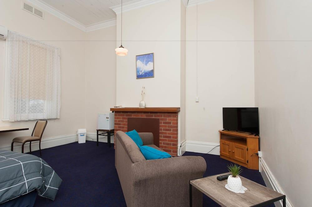 Tweepersoonskamer, 1 tweepersoonsbed - Woonruimte