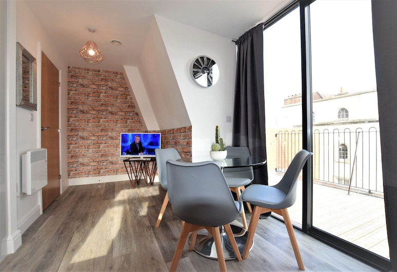 Haven apartments - yourapartment, Bristol, Appartement, 1 chambre, balcon, Coin séjour