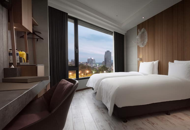 Brio Hotel, Kaohsiung, Deluxe Twin Room, Guest Room