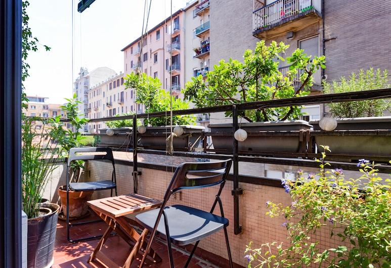 Mondrian Apartment in Milan, Milan, Apartment, Balcony