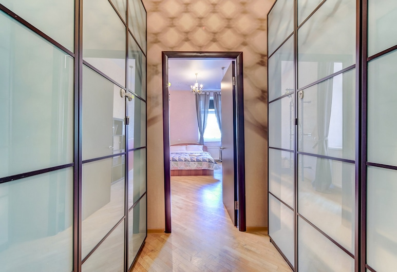 Апартаменты Welcome Home, Фонтанка 18, Санкт-Петербург, Апартаменты, 2 спальни, Зона гостиной