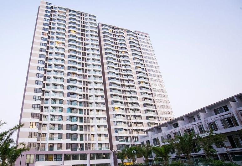دي تي جاي هومتل ها لونج, ها لونغ, شقة لرجال الأعمال - غرفتا نوم - منظر للخليج, إطلالة على الشارع