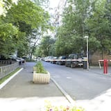 Appartement Luxe, 2 chambres (8 Presnenskiy Val st, building 2) - Balcon