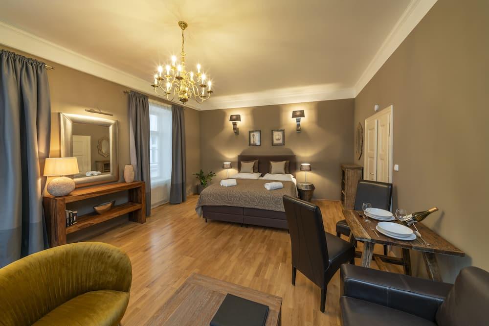Deluxe-Apartment, 1 Schlafzimmer, Kochnische, Stadtblick - Profilbild