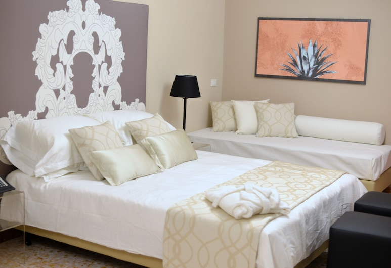 In Suite, Palerme, Suite Junior, vue ville (Agave), Chambre