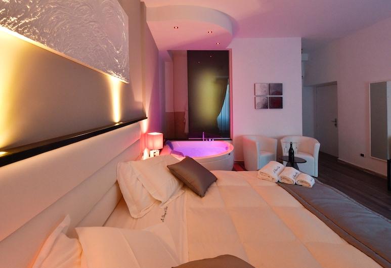 勒斯坦瑟迪艾莉莎酒店, 羅馬, 套房, 按摩浴缸, 客房