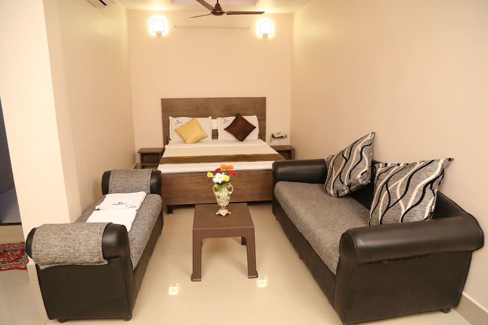Apartmá s ložnicí a obývacím koutem - Pokoj