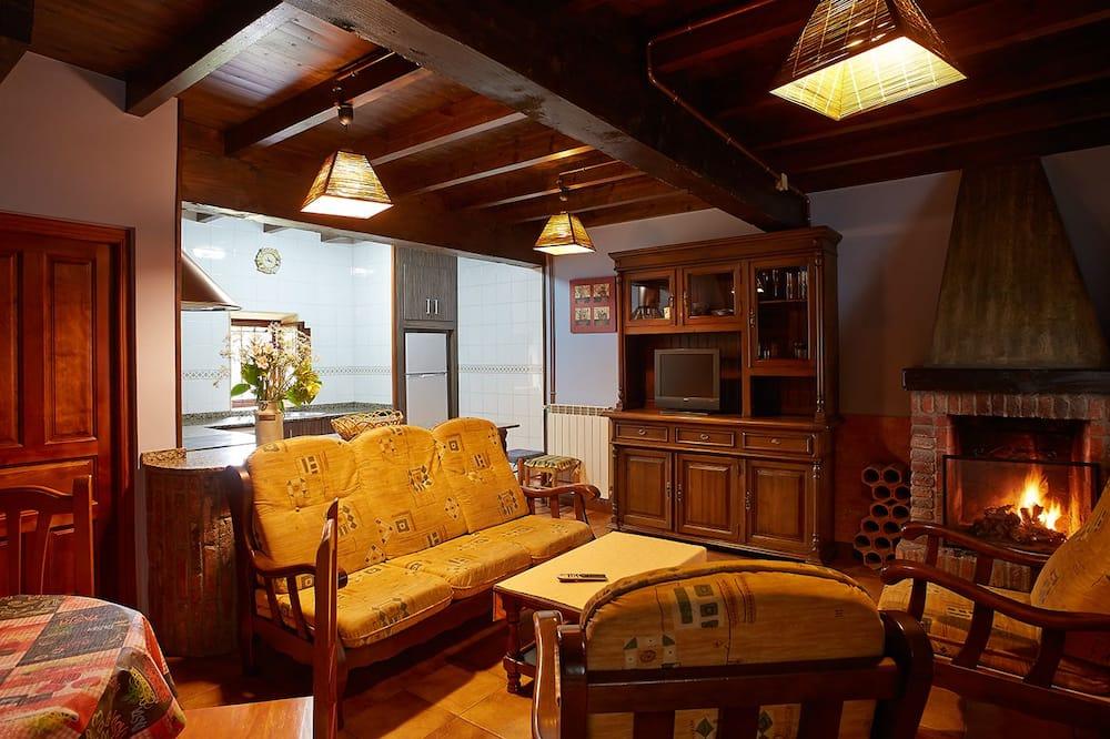 דירה, 2 חדרי שינה, מרפסת (Xuan I) - סלון