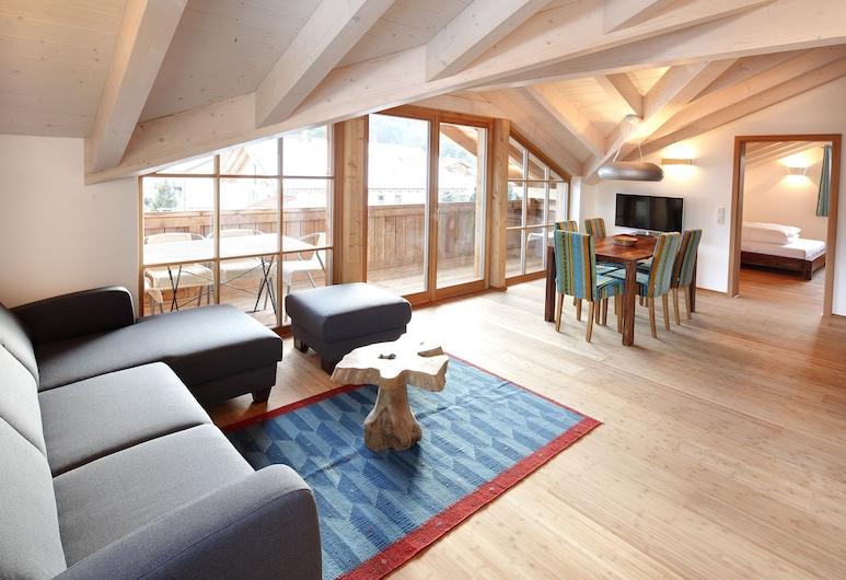 Luna Blanca Boutique Apartments, Schwangau, Departamento (3), Sala de estar