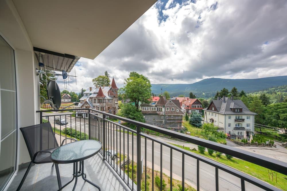 Apartamento Comfort, 1 Quarto, Vista Montanha - Varanda