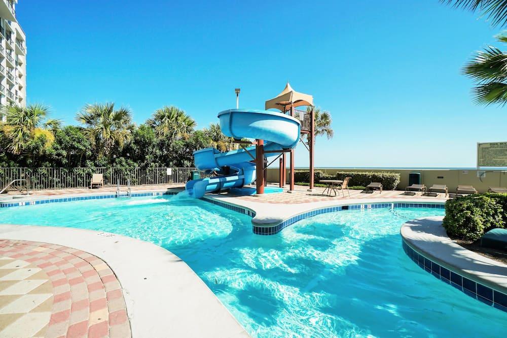 Condominio, Varias camas (Phoenix West 505) - Tobogán acuático