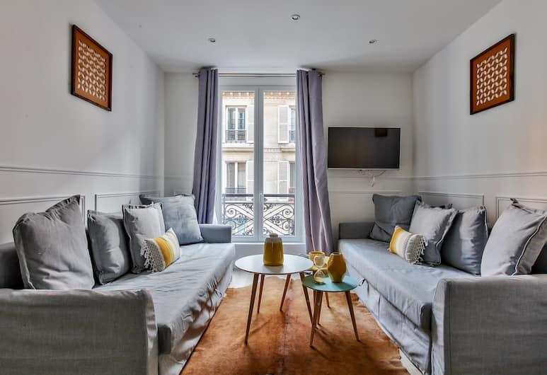 18 - Luxury Parisian Home Montorgueil 2, Paris, Apartment, 2 Bedrooms, Living Room