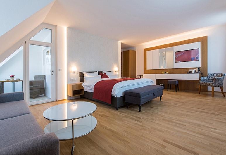 Hotel am Schrannenplatz, Memmingen, Suite, Soba za goste
