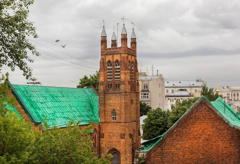 Hotel Neapol, Moskwa, Widok z hotelu