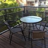 Ekskluzīvs dzīvokļnumurs, 1 divguļamā gulta un dīvāngulta - Balkons