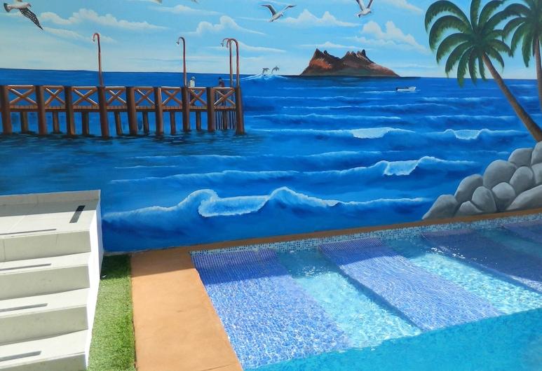 Departamento Diamante 1 Joyas del Mar Bahía de Kino, Bahia Kino, Pool