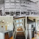 Luxury Heart of the Arts - King Suite on West Broad Condos Next VCU MCV Quirk