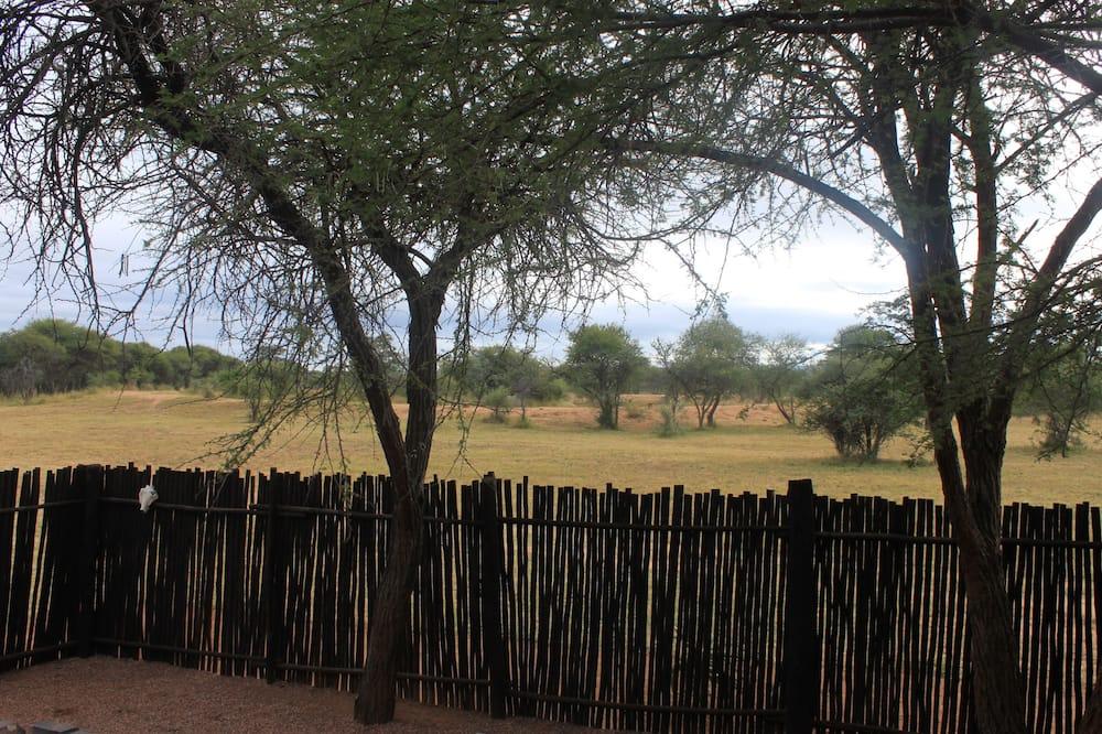 Zebra Log Cabin - Room