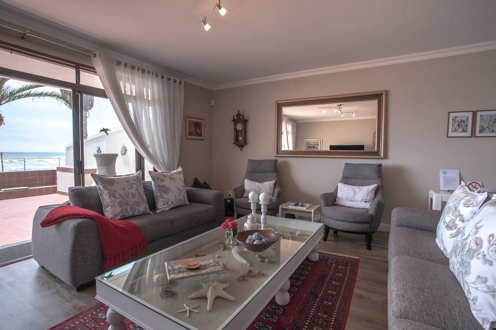 Семейные апартаменты, 3 спальни - Зона гостиной