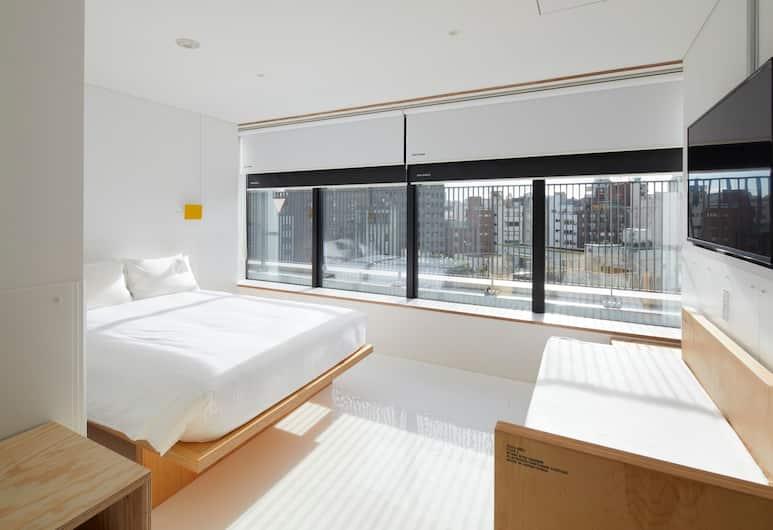MUSTARD HOTEL SHIBUYA - Hostel, Токио, Двухместный номер «Делюкс» с 1 или 2 кроватями, 1 двуспальная кровать с диваном-кроватью, Номер