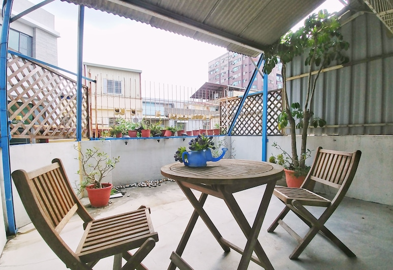 Gred House B&B, Tainan, Classic Double Room, 1 Double Bed, Balcony