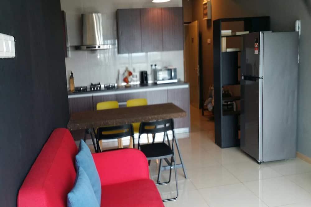 Apartemen, 1 kamar tidur (Corner (A)) - Ruang Keluarga