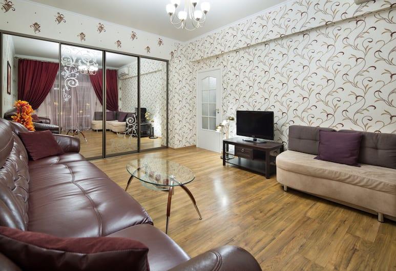 MosApts Apartment at Kiyevskaya, Moskva, Apartman, 1 spavaća soba, Dnevna soba