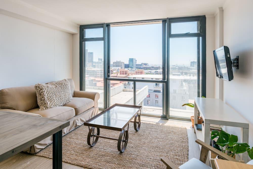 Апартаменти преміум-класу, 2 спальні - Вітальня
