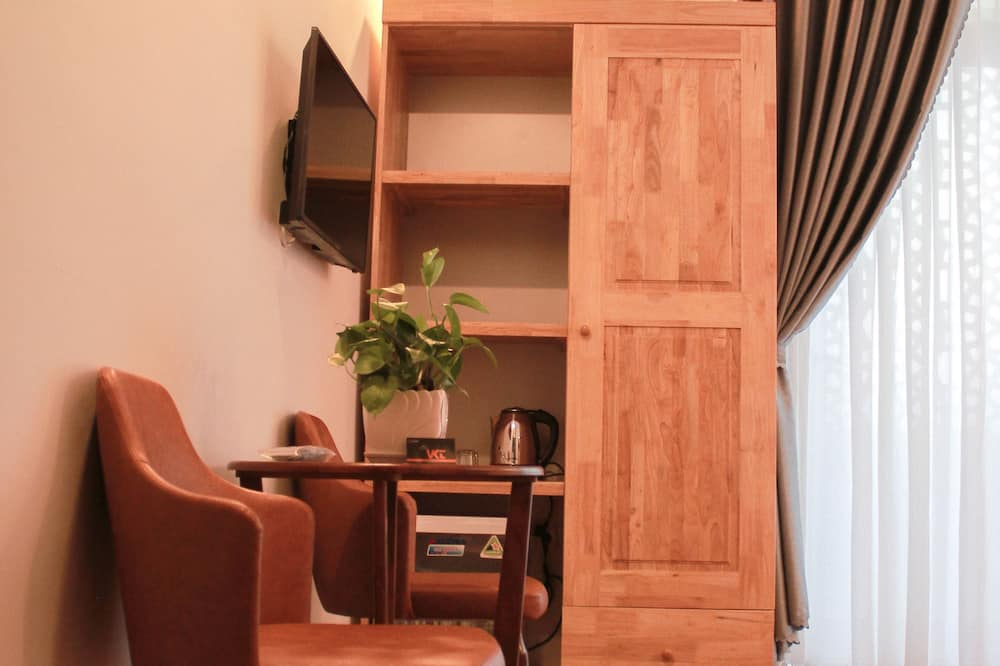 Standard Double Room, Balcony - Living Area