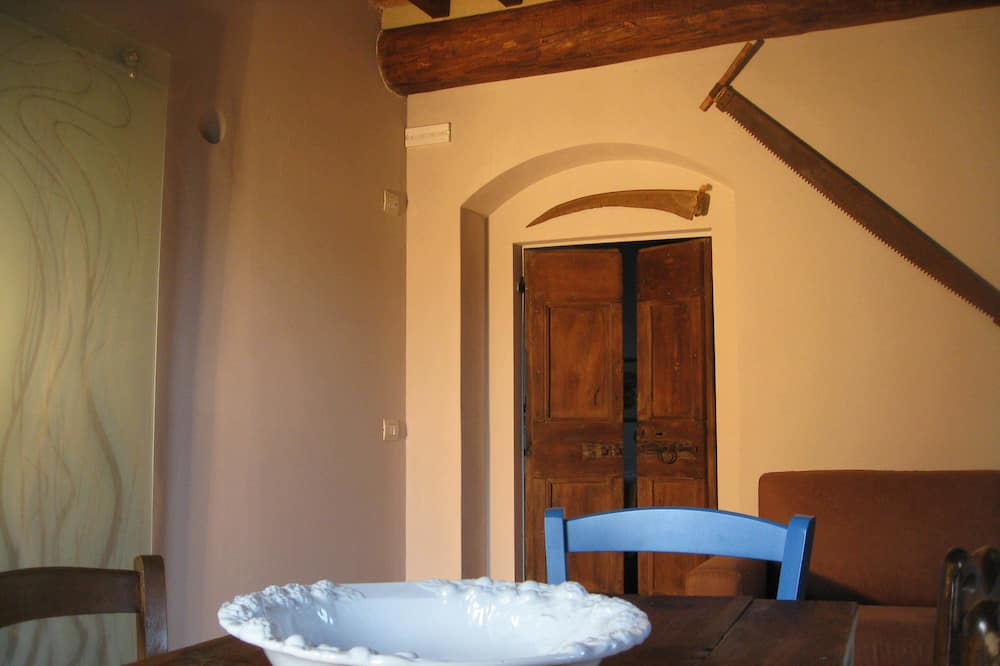Apartment, 1 Schlafzimmer, Nichtraucher - Essbereich im Zimmer