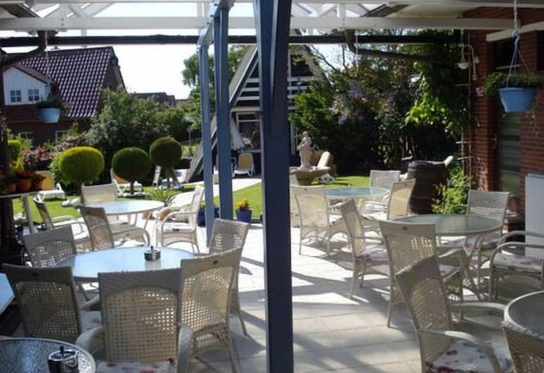 Hotel zur Fischerklause, Бут'ядінген, Тераса/внутрішній дворик