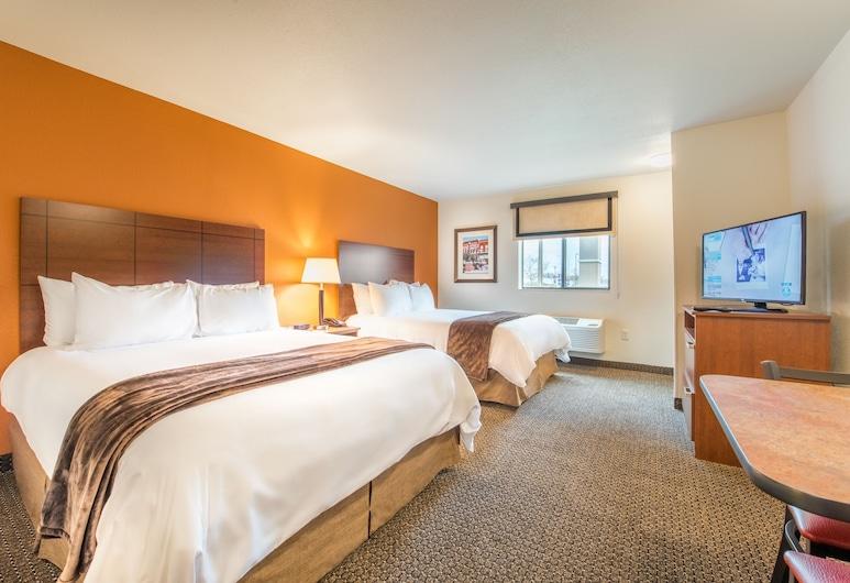 My Place Hotel-Yakima, Yakima, Quarto, 2 camas Queen, para não fumantes, Quarto