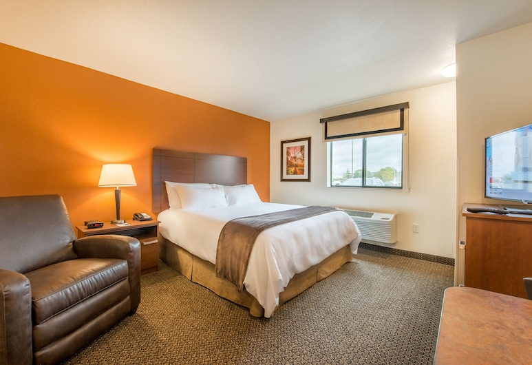 My Place Hotel-Yakima, Yakima, Quarto, 1 cama Queen (W/ Recliner), Quarto