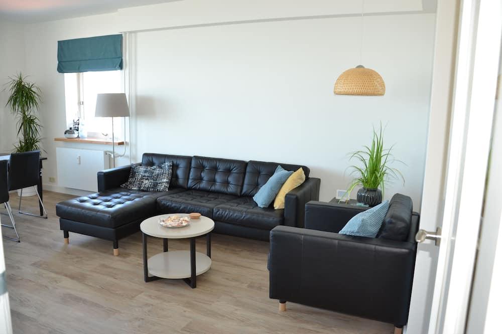 Appartement Exclusif, vue mer - Coin séjour