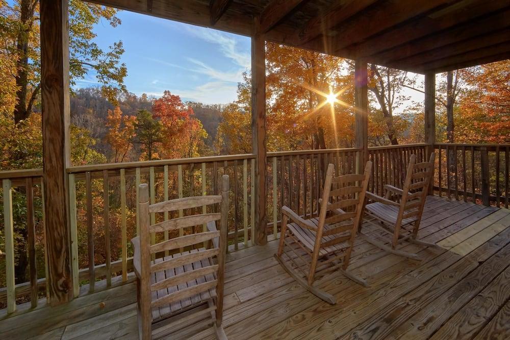 Ferienhütte - Balkon