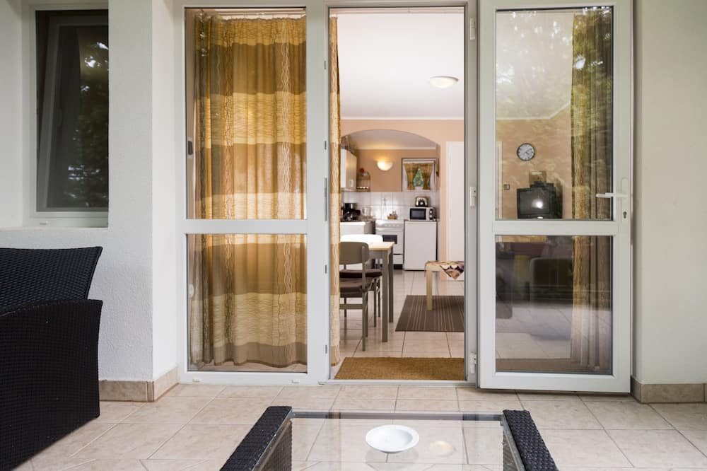 Lägenhet Standard - 2 sovrum - eget badrum - utsikt mot trädgården - Balkong