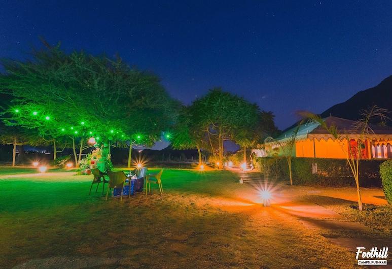 Foothill Pushkar Resort, Pushkar, Giardino