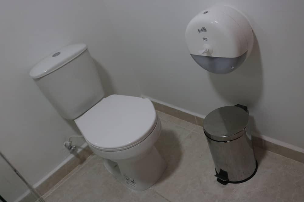 Basic szoba két külön ággyal, 1 hálószobával - Fürdőszoba