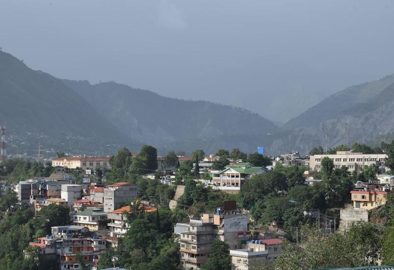Kashmir Cottage, Muzaffarabad, Vue aérienne