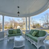 Romantiskt hus - 4 sovrum - kök - utsikt mot trädgården - Terrass